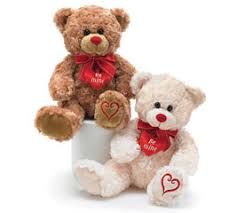 valentines day bears wholesale valentines day plush i you bears foxes