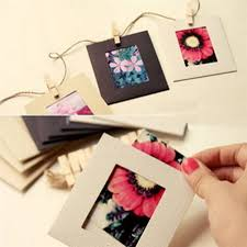 paper photo album online shop 10pcs frames photo wall decor kraft paper diy picture