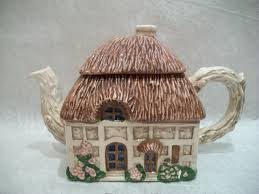 little cottage teapot ceramic teapot house teapot by oldandnew8