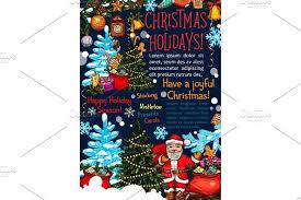 merry christmas vector sketch santa greeting card illustrations