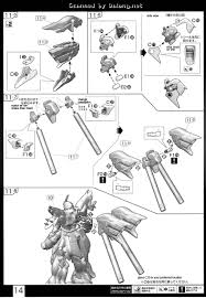 rg sinanju english manual u0026 color guide mech9 com anime and