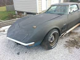 corvette project for sale find used 1970 chevrolet corvette project in woodstock maryland