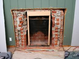 How To Fix Gas Fireplace Removing A Brick Fireplace Hgtv