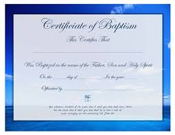 appointment certificate template church certificate template baptism wedding appointment baptism