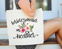 bridal party tote bags monogram tote bridal party tote bag tote bags for bridal