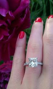 2 carat cushion cut diamond 39 charming 2 carat cushion cut engagement ring in italy wedding
