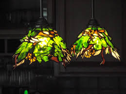 Glass Light Shades For Chandeliers Stained Glass L Shades Ideas Home Decor Inspirations
