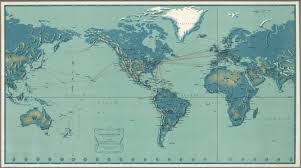 Us Airways Route Map by Pan American World Airways System David Rumsey Historical Map