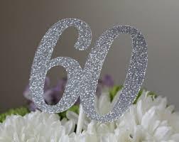 60th anniversary decorations 60th anniversary etsy