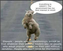 Sheeple Meme - the culture of sheepleocracy in india