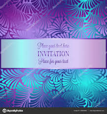 Wallpaper Invitation Card Romantic Background With Antique Luxury Black And Shiny Green And