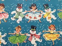 76 best vintage christmas gift wrap images on pinterest