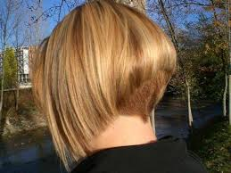 layered buzzed bob hair no no and no the duck tail in the back is no good bad cut in
