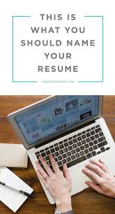 Best Font For Electronic Resume by Re Resume Resume For Your Job Application