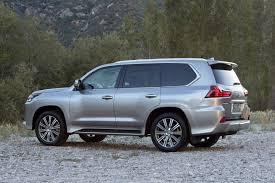 lexus large suv 2017 lexus lx 570 pricing for sale edmunds