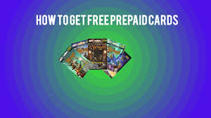 free prepaid cards how to get free prepaid cards for wizard101