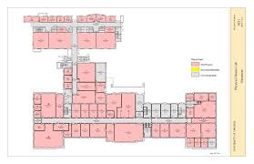 V A Floor Plan by Physics At The University Of Virginia Main Building Drawings