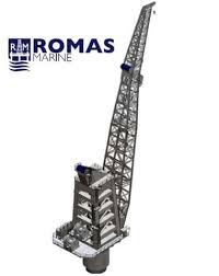 Pedestal Crane Brand New 850 Tons Pedestal Crane For Sale By Romas Marine Monaco