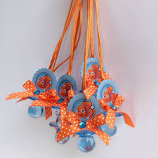 nemo baby shower items similar to 12 finding nemo pacifiers necklace finding nemo