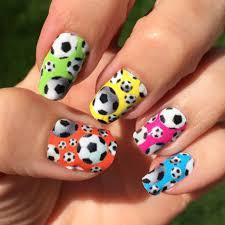 soccer nail art designs spirit wear nail wraps