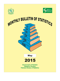 monthly bulletin of statistics for may 2015