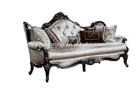 canapé style baroque luxe français style baroque en cuir tuftés simples canapé