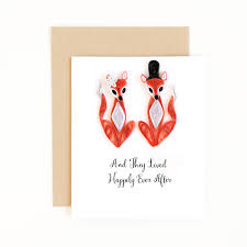 wedding card congratulations card happily ever after card