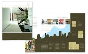 real estate brochures templates real estate flyer template