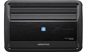 alpine mrx m110 mono subwoofer amplifier u2014 1 100 watts rms x 1 at