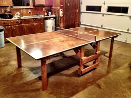 2 piece ping pong table build ping pong table home design ideas and pictures
