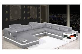 canapé panoramique canapé d angle panoramique avec méridienne en cuir italien