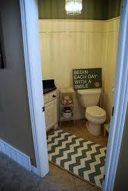 chevron bathroom ideas painted chevron rug reveal tutorial