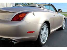 lexus sc400 engine 2002 lexus sc400 for sale classiccars com cc 891250