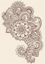 Indian Art Tattoo Designs Best 25 Paisley Tattoo Design Ideas On Pinterest Feather Tattoo