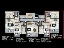 granada residence duplex apartment in alanya