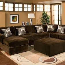 Large Brown Sectional Sofa Brown Sectional Brown Sectionals For Sale Kulfoldimunka Club
