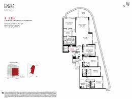 Parkland Residences Floor Plan by Faena House Miami Beach 3315 Collins Ave Miami Beach Fl 33140