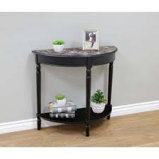 Black Sofa Table Console Tables Accent Tables The Home Depot