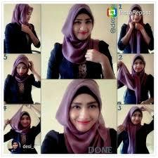 tutorial hijab segitiga paris simple tutorial cara pakai kerudung segi tiga gaya simple kumpulan contoh