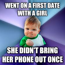First Date Meme - livememe com success kid