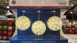 ge led spheres 3 pack
