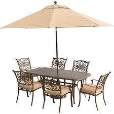 Aluminum Patio Table by Alveranda Hampton Bay Patio Dining Furniture Patio Furniture