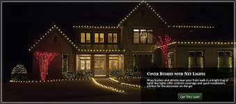 Christmas Decorations Net Lights by Image Gallery Net Lights Decorating