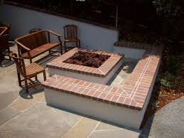 Square Fire Pit Kit by Awesome Square Fire Pit Kits Natural Concrete Products Fire Pit