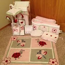Ladybug Crib Bedding Set Kidsline Bedding Sets Blossom Tails 4 Baby Crib Bedding Set