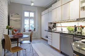 mid century modern kitchen flooring cozy and chic swedish kitchen design swedish kitchen design and
