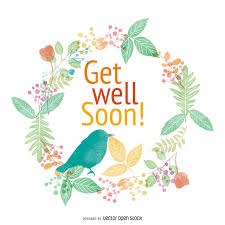get well soon cards get well soon watercolor card design featuring flowers and birds
