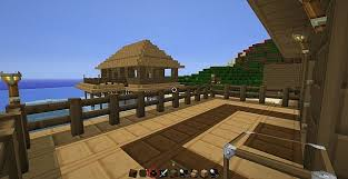 Beach House On Stilts Beach House On Stilts Minecraft Project