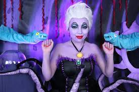 party city halloween makeup disney u0027s ursula makeup tutorial youtube