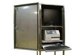 boitier ordinateur de bureau boîtier de taille pour ordinateur de bureau en inox